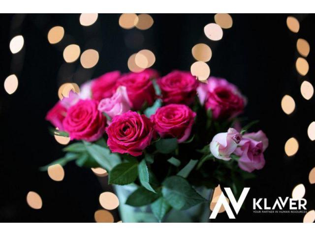 Pracownik produkcji kwiatów i na sortowni